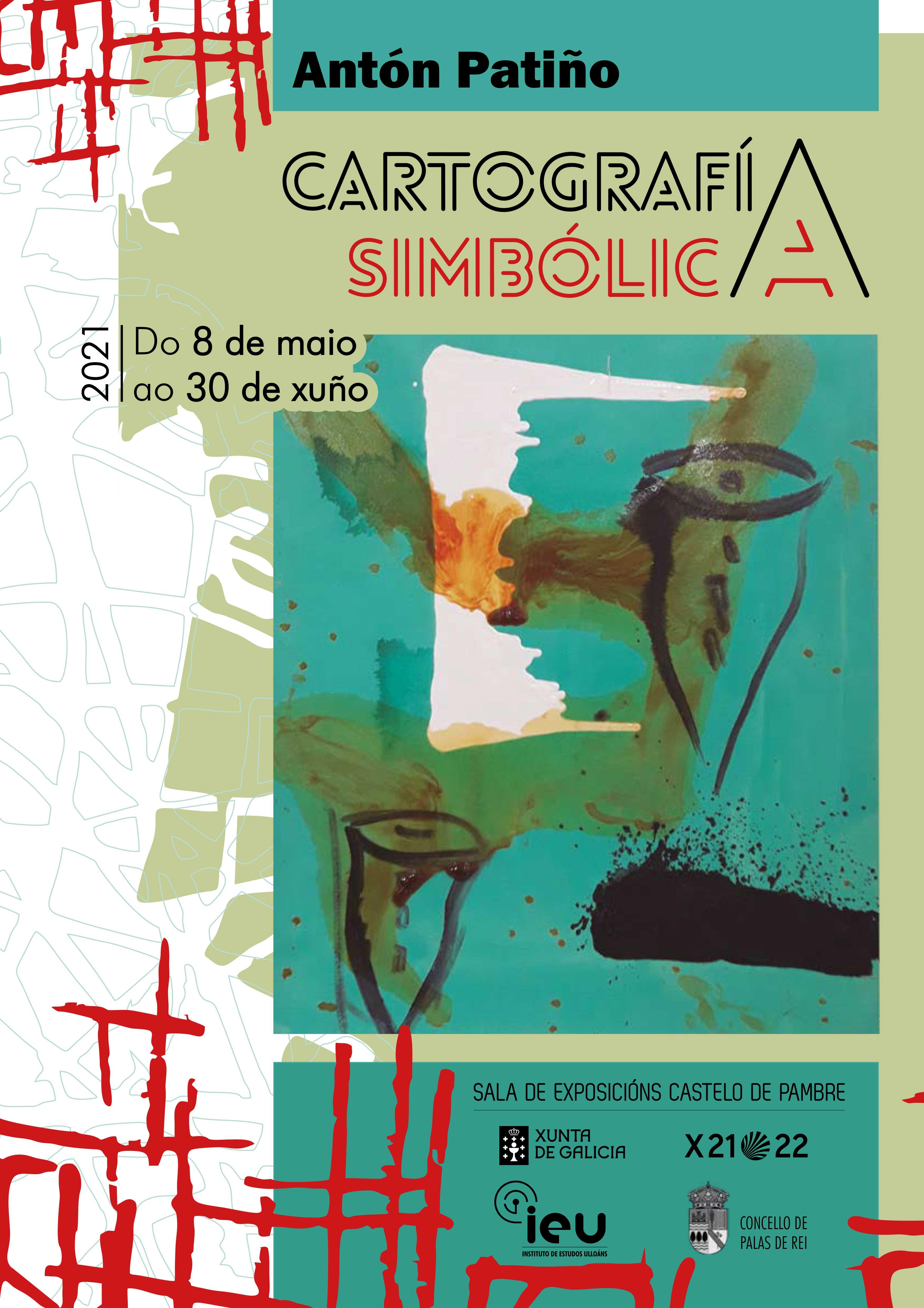 Cartografía simbólica, Antón Patiño, castelo de pambre, Instituto de Estudos Ulloáns