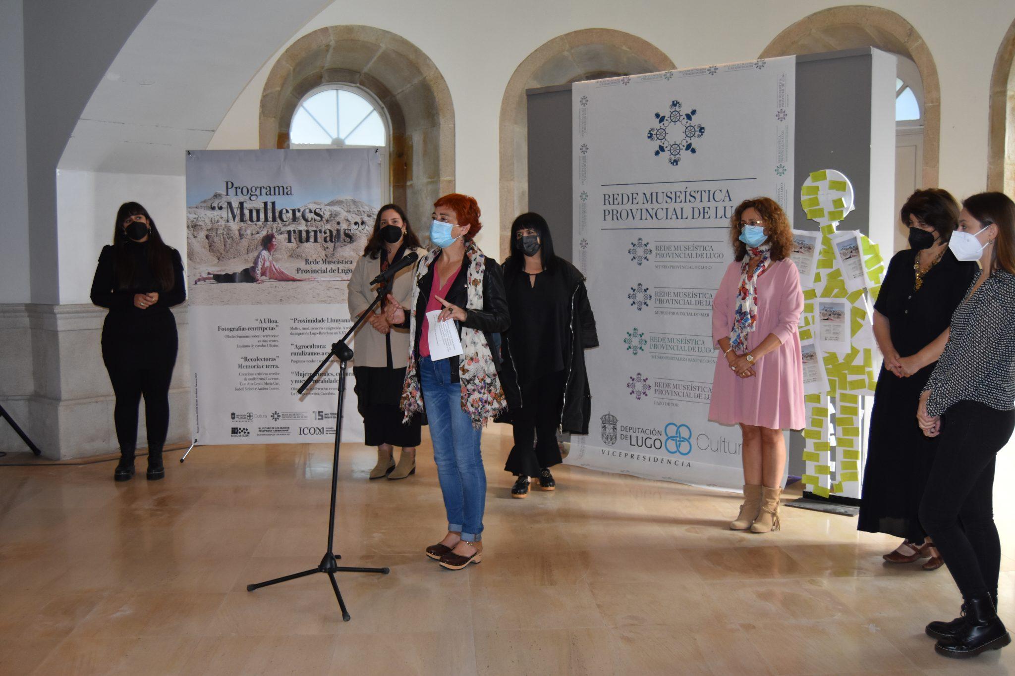 Presentacion programa Mulleres Rurais, Deputación Lugo