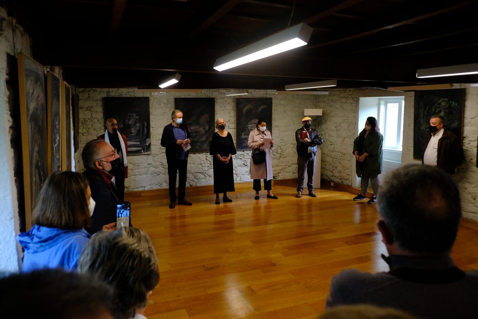 Exposición de Vazquez Cereijo no castelo de Pambre, Instituto de Estudos Ulloáns